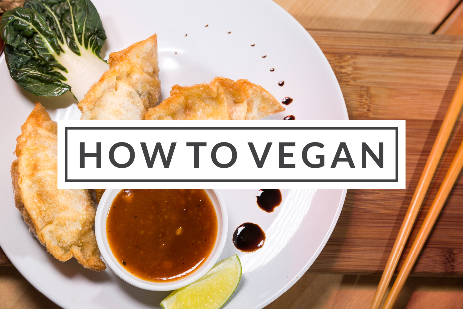How To Vegan - A Herbivores Survival Guide To Veganuary