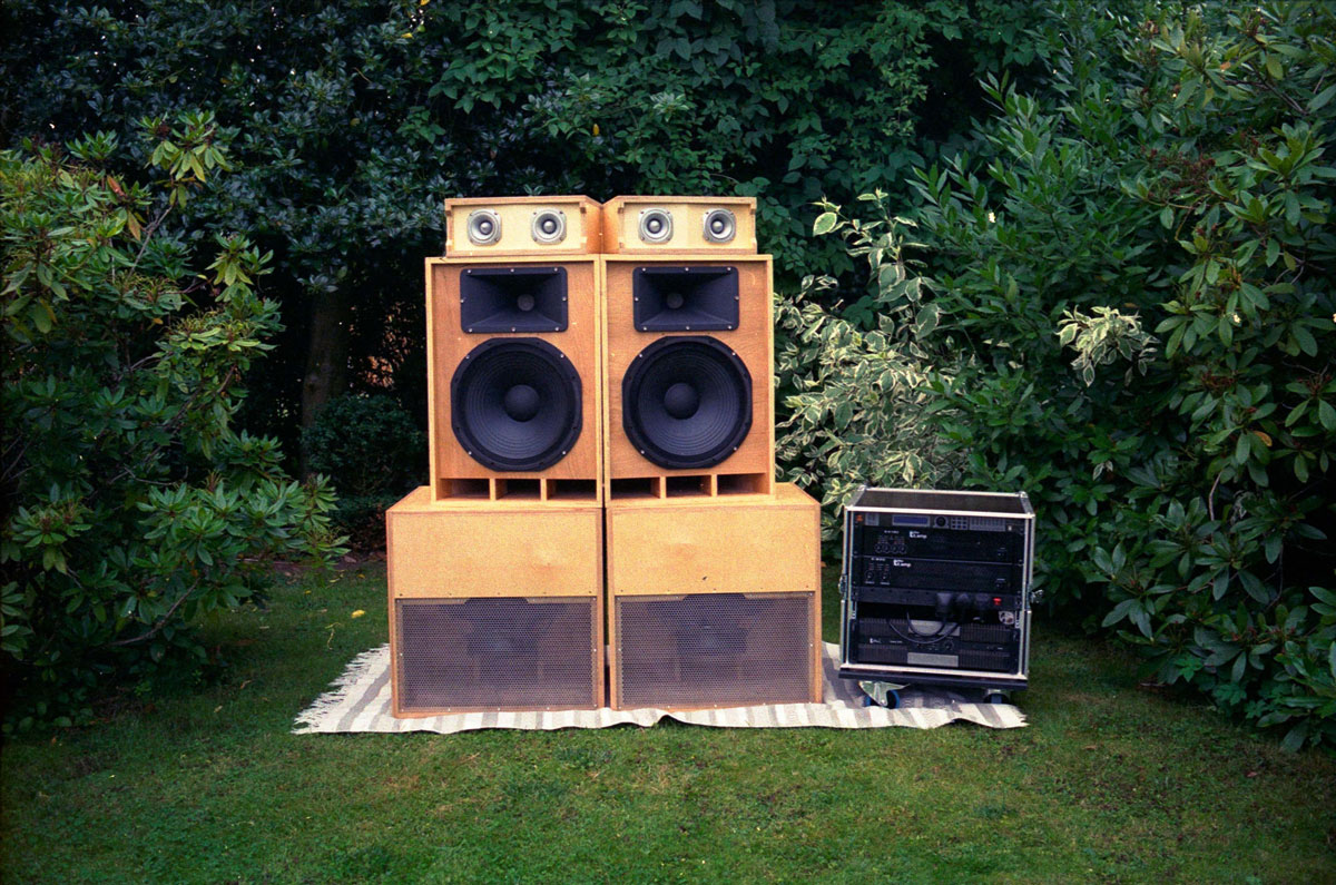 garden soundsystem denouement collective art exhibition