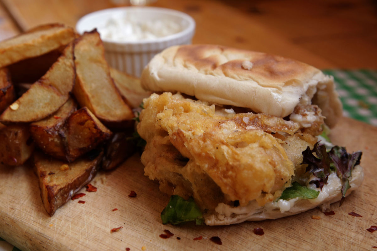 Fish Butty Vegan leeds