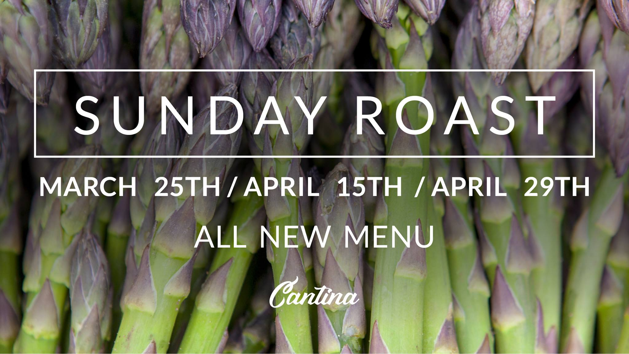 The Sunday Roast Shake-Up – Springtime Dates Announcement